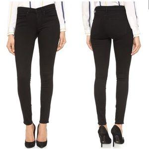 AYR The Skinny Jeans Stretch Ankle Black 27 x 28